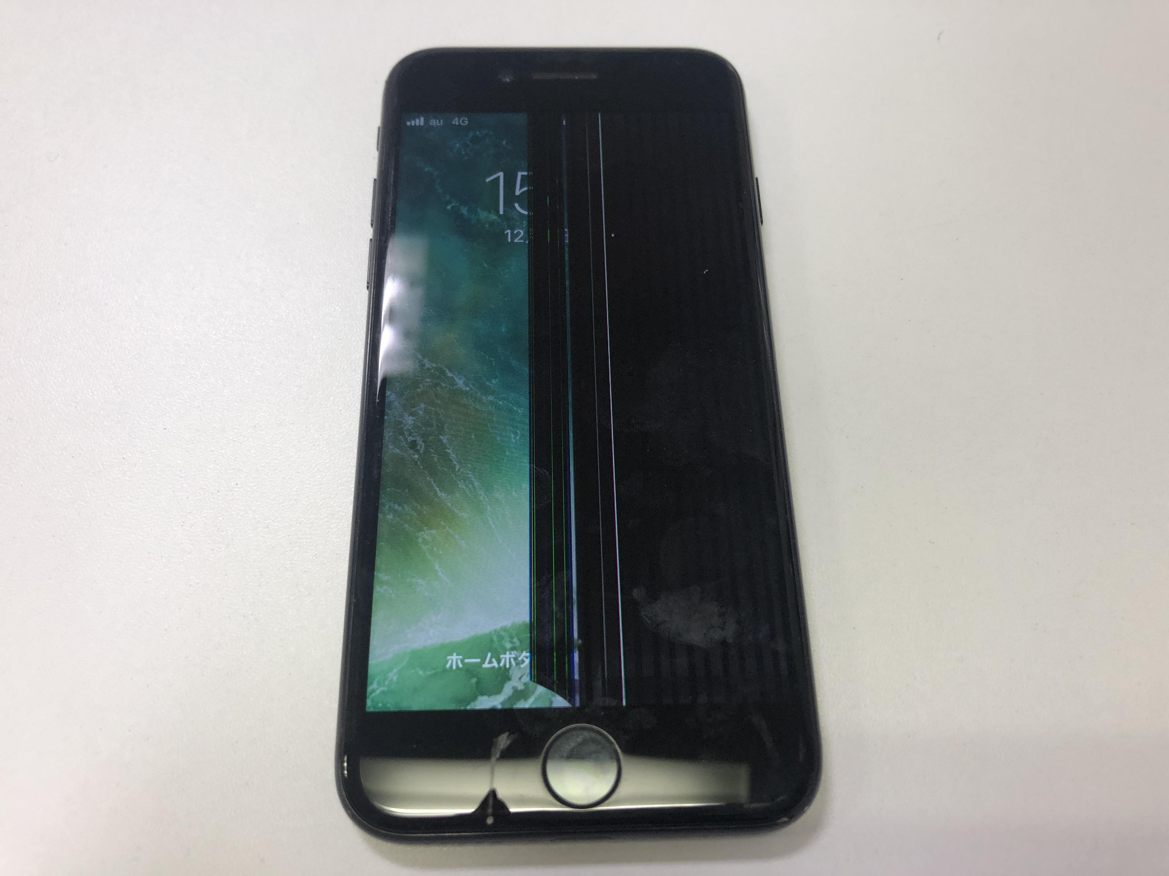 修理前:【iPhone6s】割れてしまった液晶画面交換いたします!